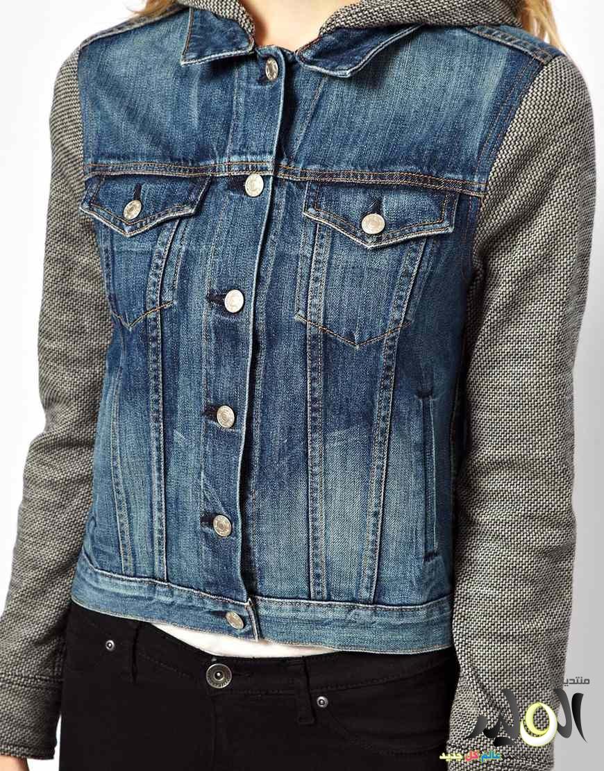 صوره جينزات جواكت تجنن استايلات ملابس جينز