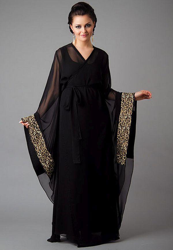 بالصور ملابس نسائية اماراتية عبايات سهرات 20160513 118