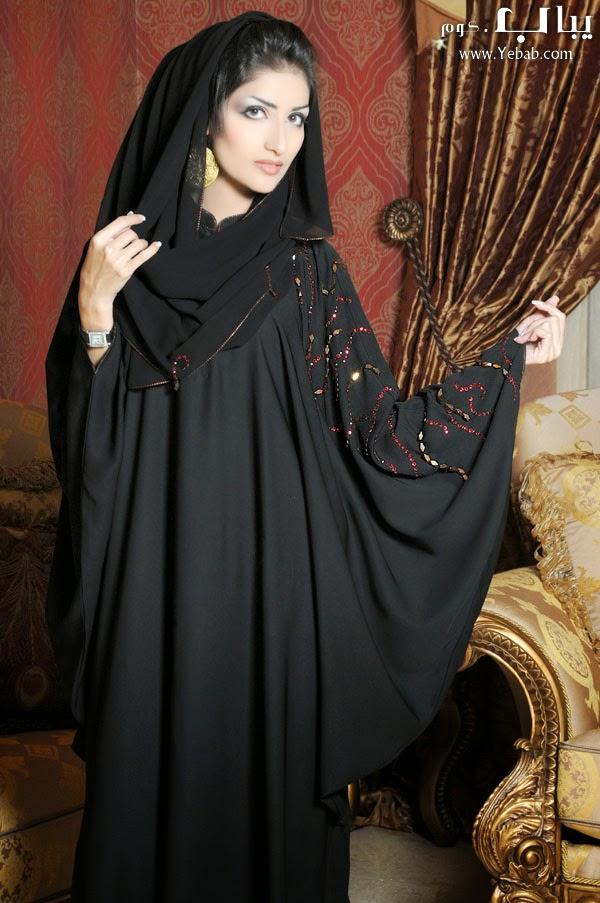بالصور ملابس نسائية اماراتية عبايات سهرات 20160513 119