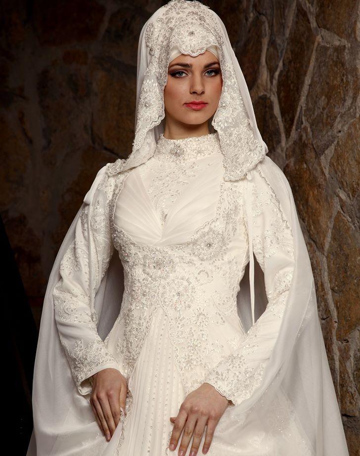 صورة فساتين زفاف تركية 2020 , ابداع النساء التركيات باللباس
