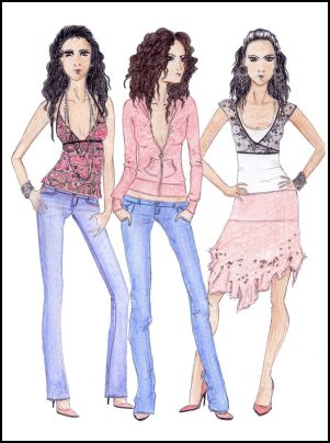 صورة تصميمات ازياء fashion design