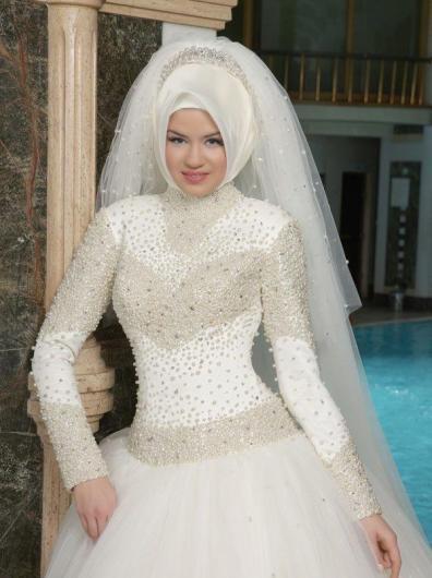 صور افخم فساتين الزفاف فساتين شيك للافراح ازياء
