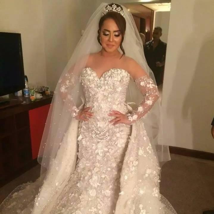 بالصور فساتين زفاف هاني البحيري 2019 20160517 731
