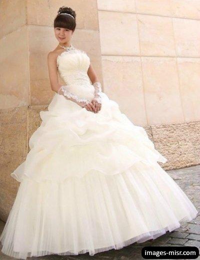 بالصور فساتين زفاف كوريه 2019 20160517 900