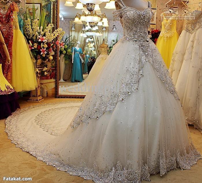 بالصور فساتين زفاف عراقيه 2019 20160517 966
