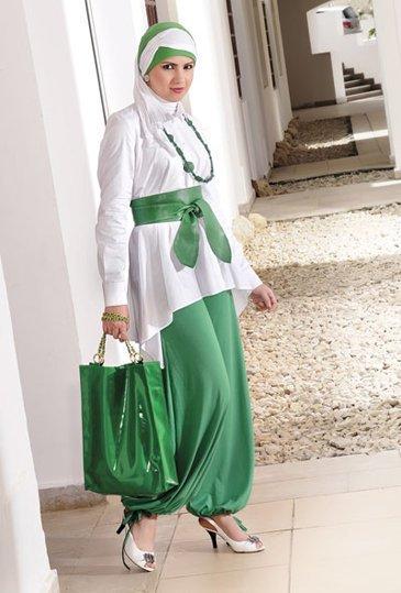 صورة تعتبر اول مرة أخرج بالاستايل دة بعد الحجاب , ملابس جنان اجمل ازياء محجبات
