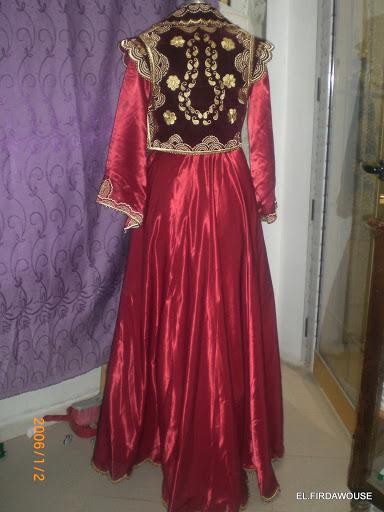 فساتين اعراس تقليدية جزائرية