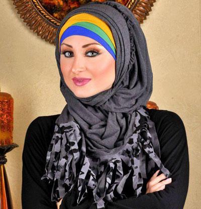 بالصور اجمل لفات حجاب للمناسبات 2019 احدث لفات طرح 2019 20160518 327