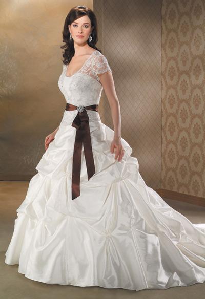 بالصور صور فساتين زفاف انيقة فساتين زفاف راقية للعرايس 20160520 309