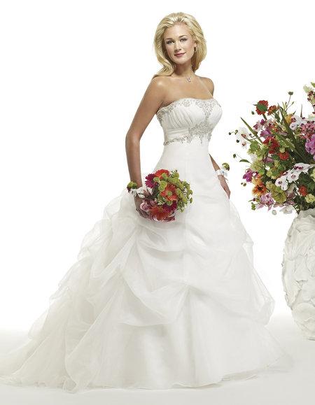 بالصور صور فساتين زفاف انيقة فساتين زفاف راقية للعرايس 20160520 312