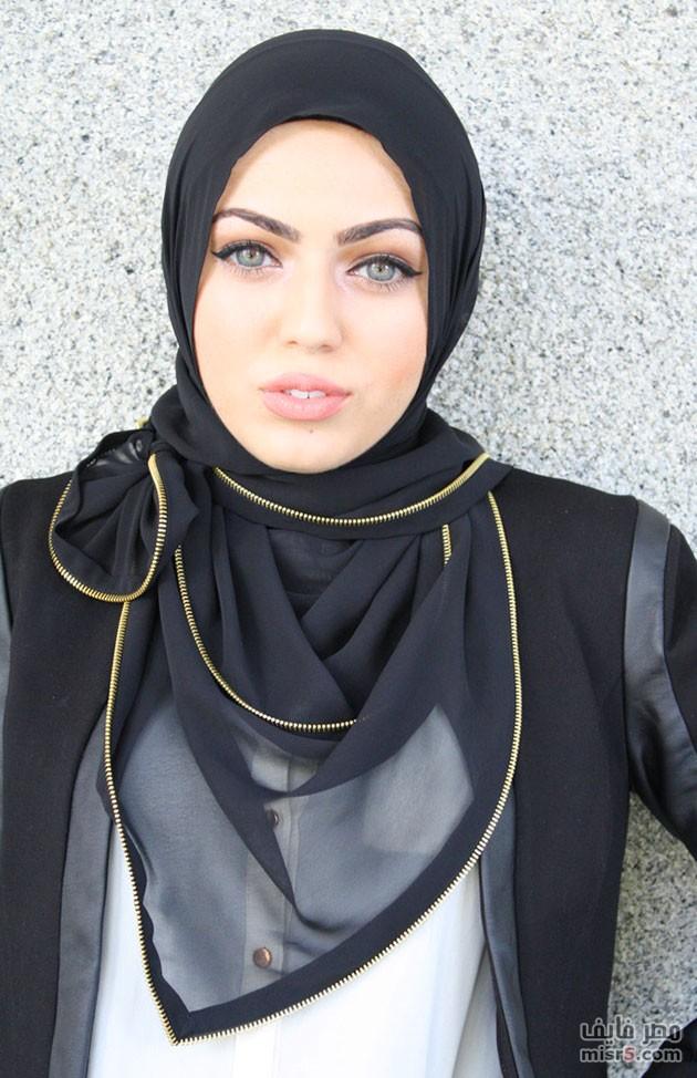 بالصور لفات طرح عسل للمحجبات 2019 احلى لفات حجاب 2019 20160522 97