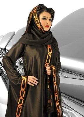 صور موديلات للعباءة الخليجية عبايات خليجية مميزة