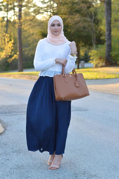 بالصور موضة التنورات للعيد 2019 احدث موضة للحجاب 2019 20160523 478