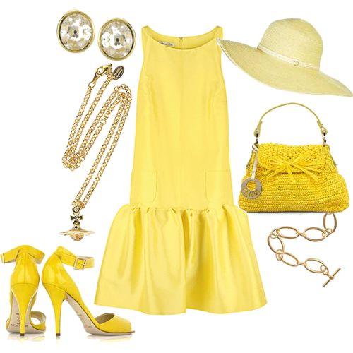 صوره روعة اللون الاصفر ازياء باللون الاصفر كولكشن اصفر