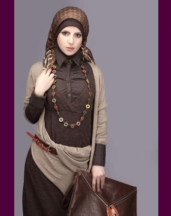 بالصور موضة محجبات شيك 2019 اجمل موديلات حجاب للعيد 2019 20160525 288