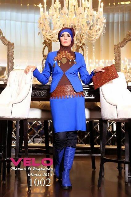 صوره المصممة مروة البغدادى 2017 ملابس مروة البغدادي 2017
