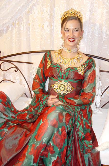 صوره ملابس تقليدية مغربية في قمة الروعة اجمل ملابس