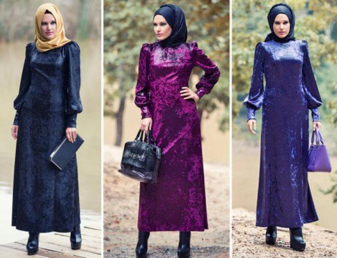صوره ملابس محجبات كيوت للبنات مجموعة ازياء جميلة للمحجبات