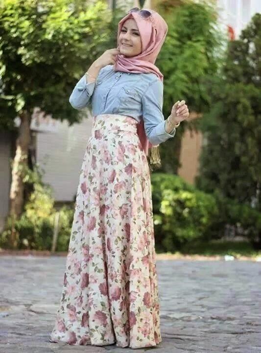 بالصور ملابس محجبات كيوت للبنات مجموعة ازياء جميلة للمحجبات