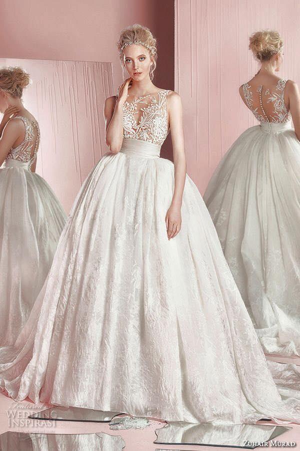 صور فساتين زفاف 2019 زهير مراد