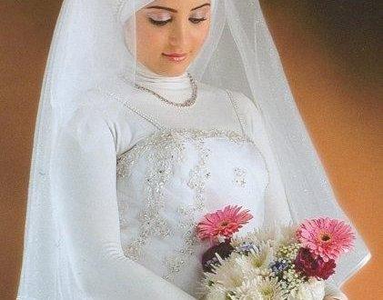 صوره فساتين زفاف للمحجبات روعة فساتين زفاف انيقة