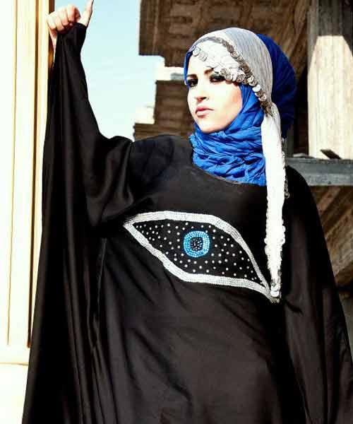 صور عبايات ستايلش عبايات اسبوع الموضة عبايات اماراتيه
