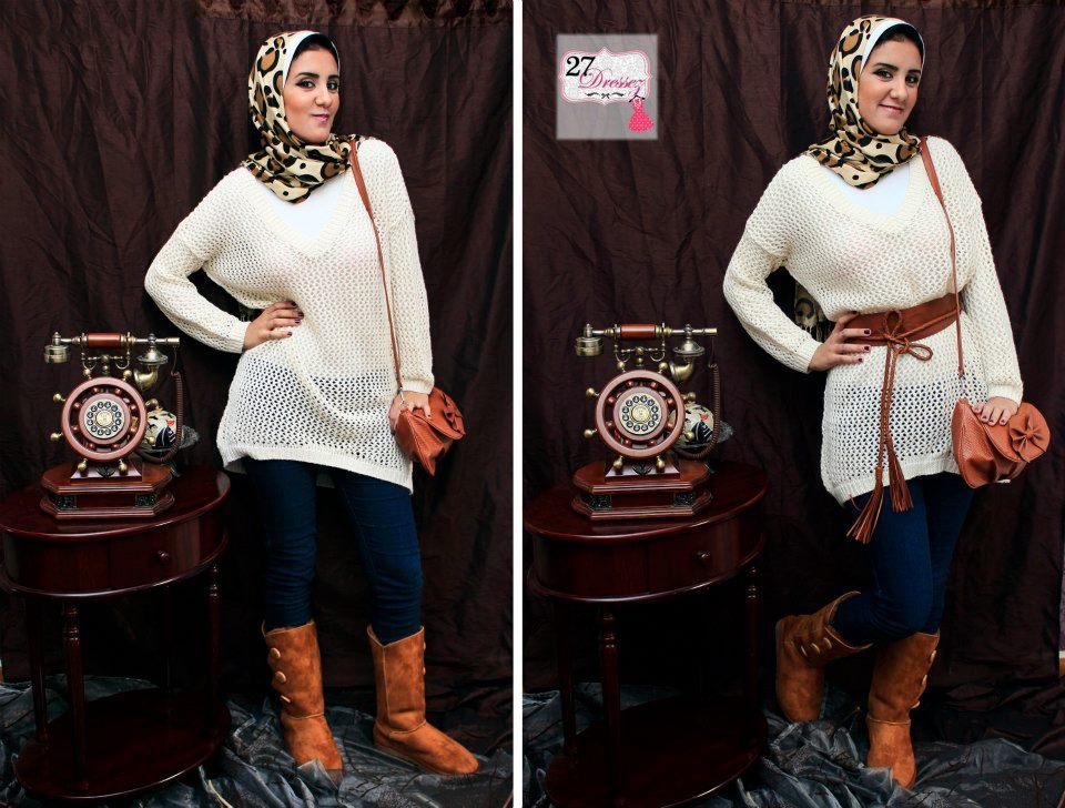 صوره Costumes veiled رائعة موديلات ازياء بنات محجبات تحفة