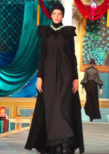 بالصور عبايات ستايلش عبايات اسبوع الموضة عبايات اماراتيه 20160527