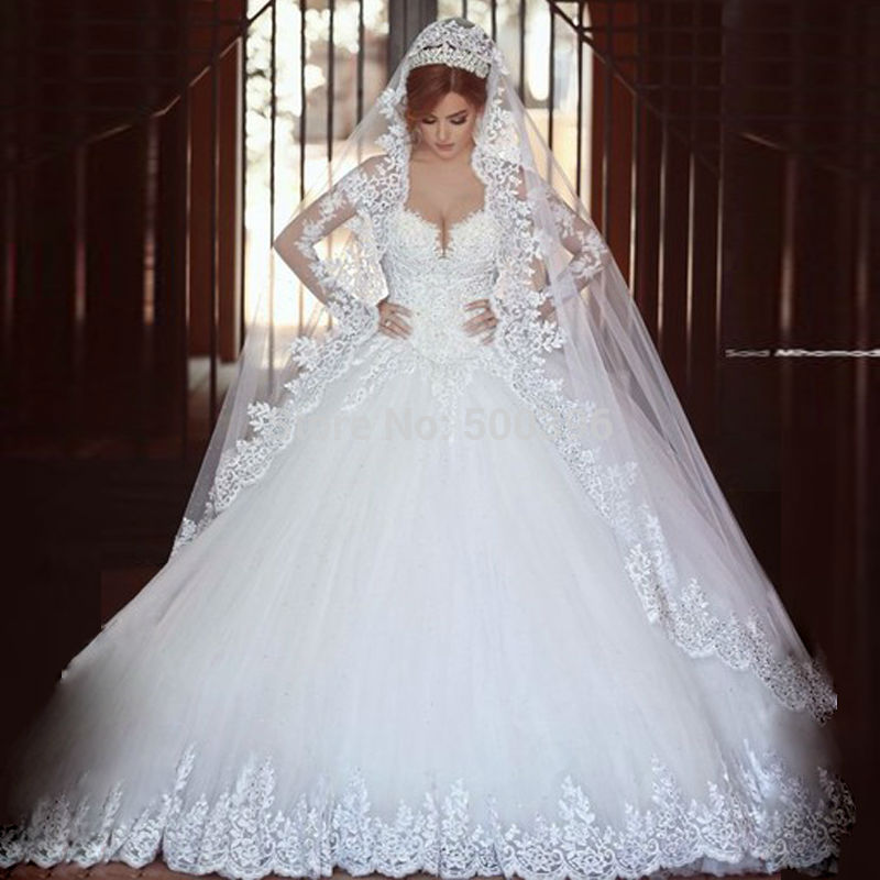 بالصور فساتين زفاف تحفة فستان ليلة العمر 20160528 158