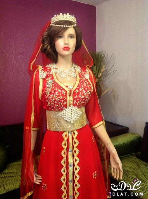 صوره فساتين اعراس شتوية جزائرية