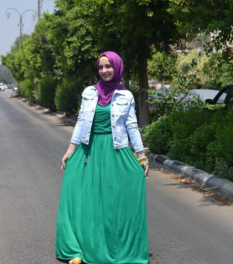 صوره استايلات جديدة للمحجبات ملابس محجبات ولا اروع