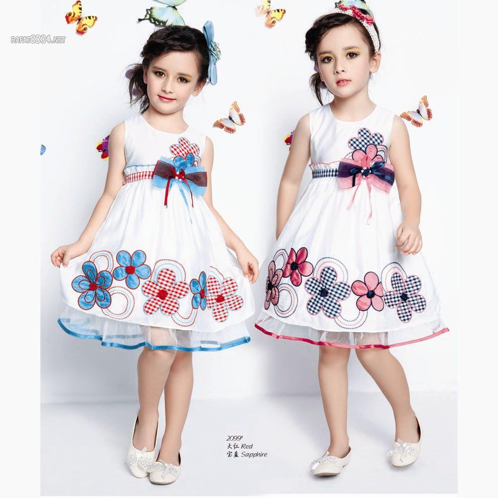 صوره فساتين اطفال بنات للعيد