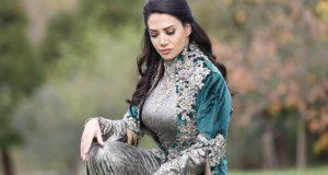 صوره فستان 2017 فستان ديانا حداد الاخضر 2017