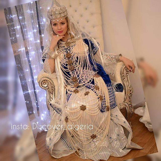 صوره بلوزة وهرانية 2017 لباس العرائس في الجزائر 2017