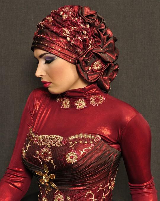 صورة حجابات للمناسبات اختاري الي بيناسب فستانك 2020