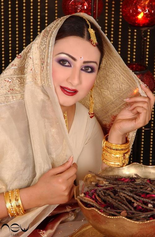 صوره ستايل هيفاء حسين باللوك الهندي