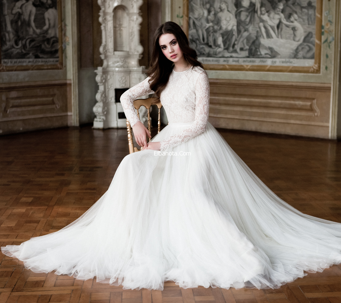 صوره فساتين اعراس تركية 2019