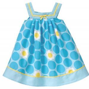 صورة فساتين اطفال عمر 3 سنوات , طفلة صغيرة بفستان جذاب