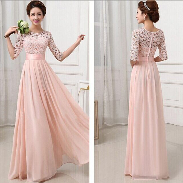 558d6b1569ed0S-XL-2015-Summer-white-pink-Lace-chiffon-dress-sexy-fashion-Fashionable-dress