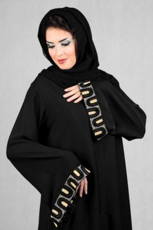صوره موديلات للعباءة الخليجية عبايات خليجية مميزة