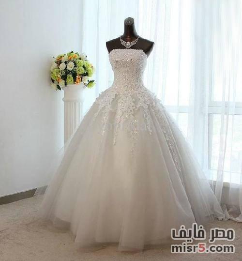 صوره فساتين زفاف روعة 2018 احدث فساتين الزفاف 2018