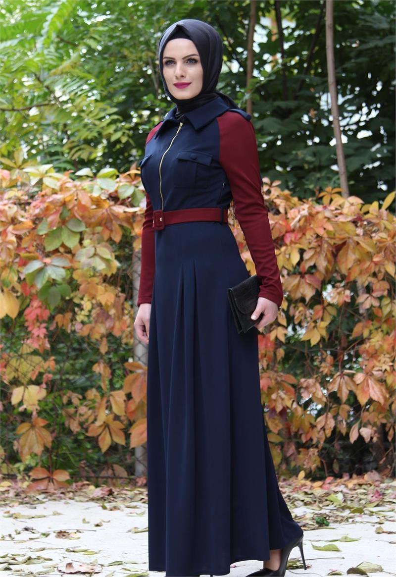 صوره حجاب باحمل الالوان 2018 ملابس محجبات محترمة 2018