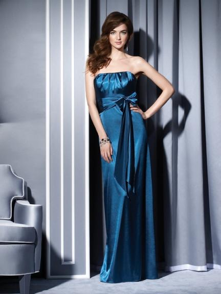 صورة اروع الفساتين الناعمة احلى فساتين الحرير