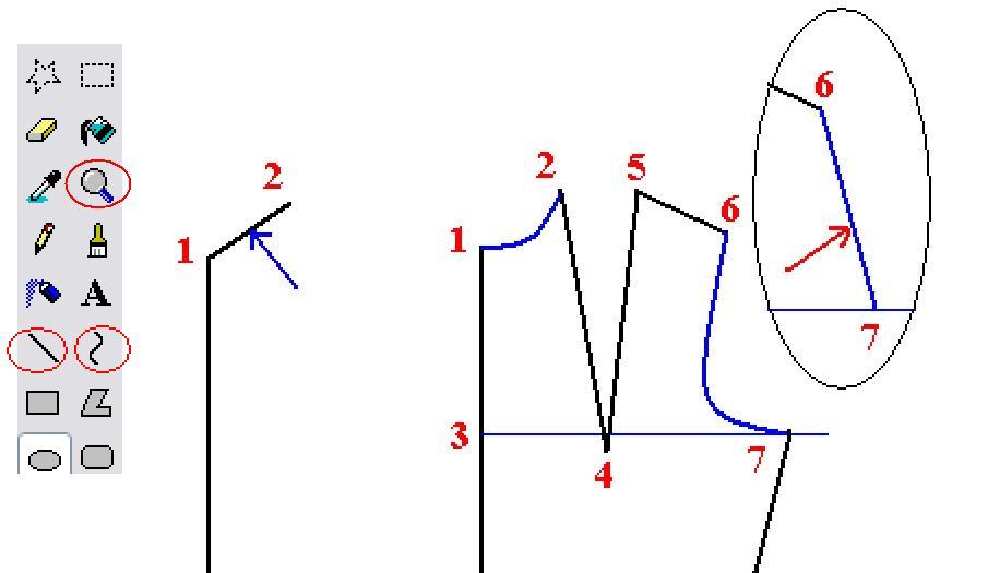 بالصور تعلم تصميم الازياء بخطوات سهلة ومرحة ارجو التثبيت ZPh01367