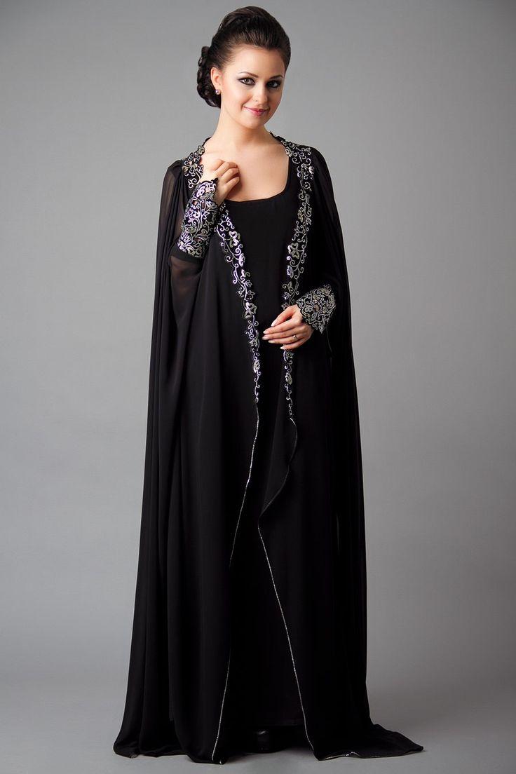 صوره ملابس نسائية اماراتية عبايات سهرات