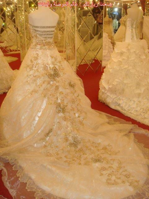صورة فساتين زفاف طرابلس ليبيا , اشكال وهم وجنان للعروس
