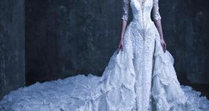 صوره فساتين زفاف غير تقليدية