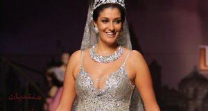 صوره فساتين زفاف غادة عبد الرازق