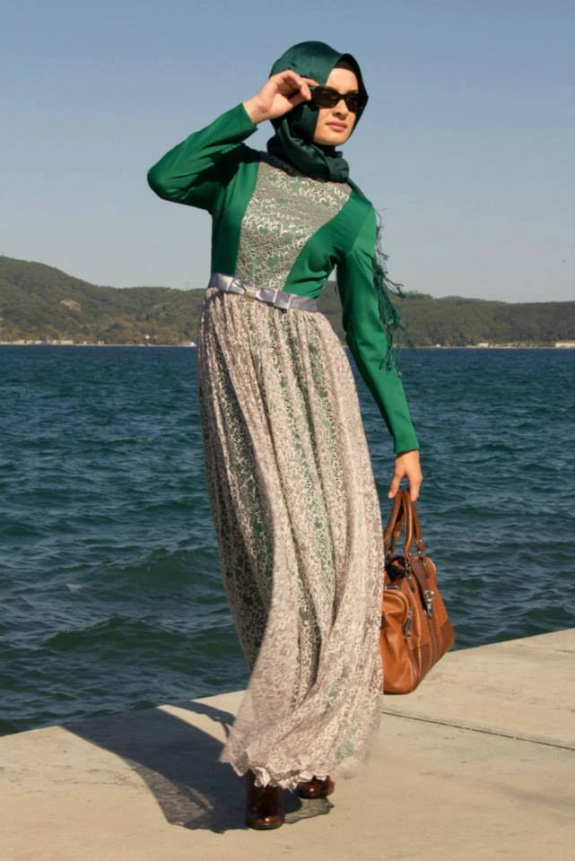 صور موضة محجبات شيك 2019 اجمل موديلات حجاب للعيد 2019