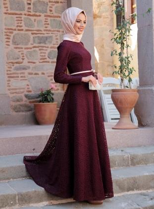 صوره فساتين طويلة للمحجبات 2017 فستان يهبل اخر موضة 2017
